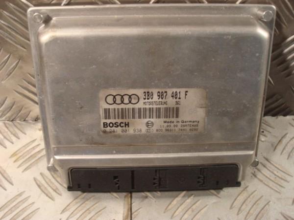 Steuergerät VW Passat_Audi A4 TDI 2.5 V6 AFB 3B0907401F D61 Bosch 0281001938 ECU