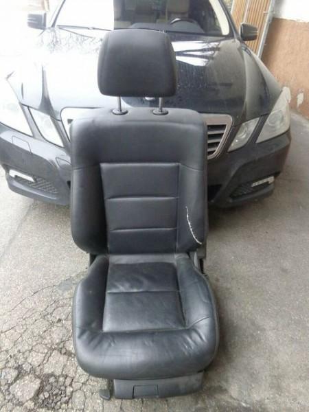 Mercedes W212 E-Klasse Sitz Beifahrersitz Leder MOPF/Facelift
