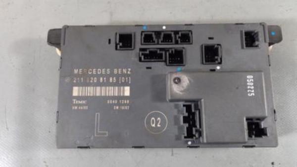 Mercedes W211 E-Klasse Türsteuergerät Vorne Links 2118208185