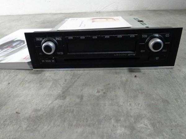 Audi A4 8E Autoradio Radio CD Audi Concert 8E0035186AA