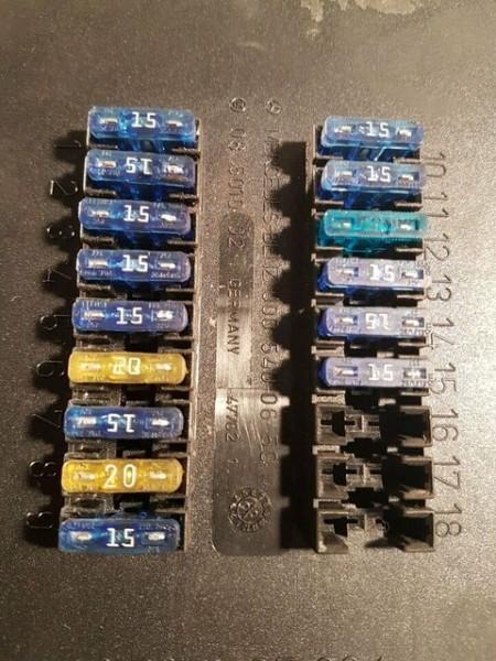Mercedes Vito W638 Sprinter W906 0005400650 Sicherungskasten