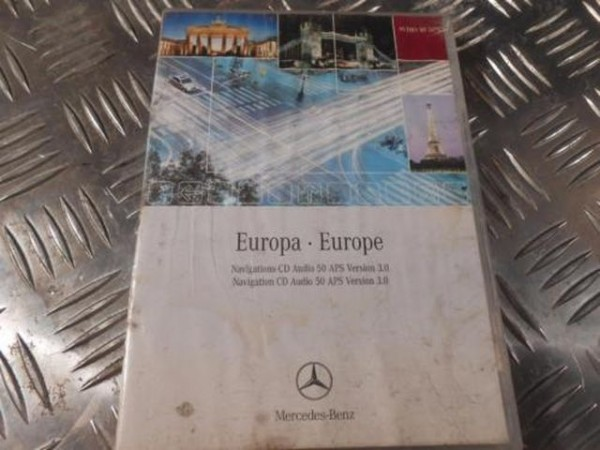 Mercedes Europa Navigation CD Audio 50 APS Version 3.0