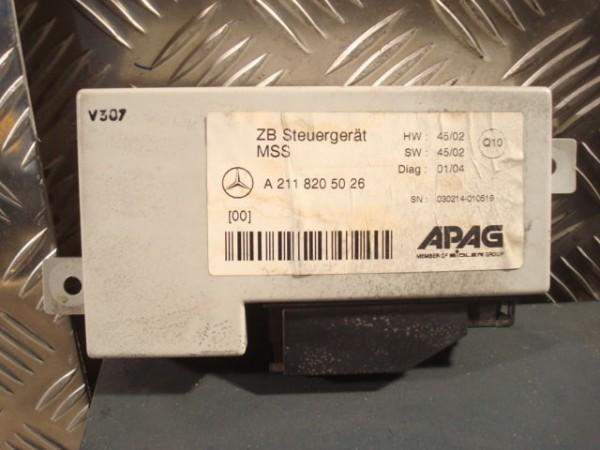 Mercedes E-KLASSE STEUERGERÄT Multifunktionssteuergerät W211/W203 A2118205026 ZB