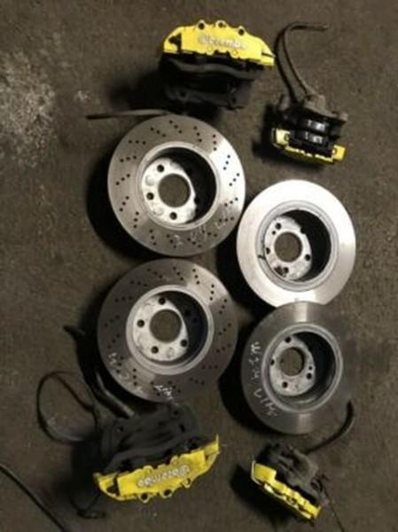 Mercedes W204 C-klasse Bremsanlage kein Brembo mit Bremssattel