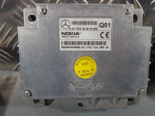 Steuergerät Telefon Nokia A211870382605 Mercedes E-Klasse W211