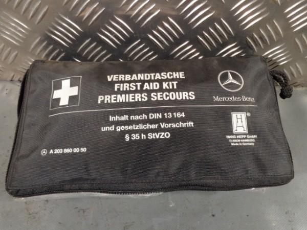 Mercedes W203 ml 163 C-Klasse Original Verbandstasche Verbandskasten A2038600050