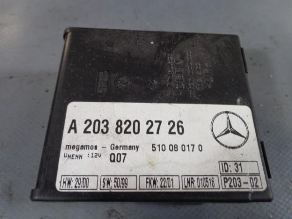 Mercedes W220 S320 W203 Steuergerät Abschleppschutz Alarm A2038202726