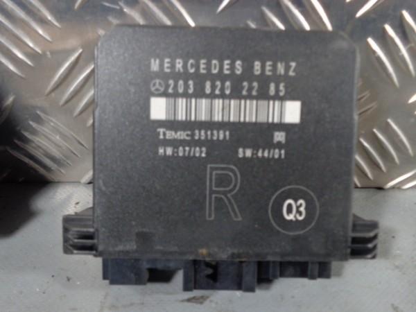 Türsteuergerät hinten rechts A2038202285 Mercedes C-Klasse S203 Kombi Avantgarde